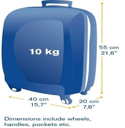 carry on baggage dimensions. Black Bedroom Furniture Sets. Home Design Ideas